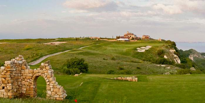 The BlackSeaRama Golf Course, designed by Gary Player
