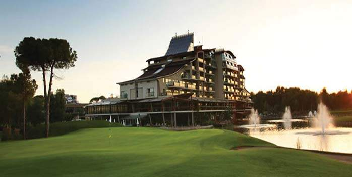 Golfing Holiday in Sueno, Turkey incl Four Rounds of Golf