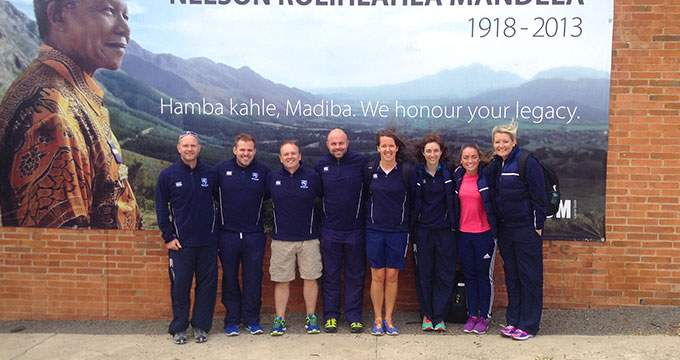 Grosvenor Rugby and Hockey Tour of South Africa