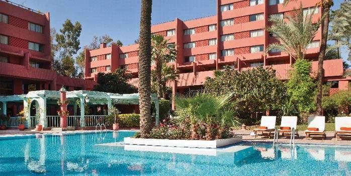 Kenzi Farah Hotel Marrakech Morocco Golfing Holiday