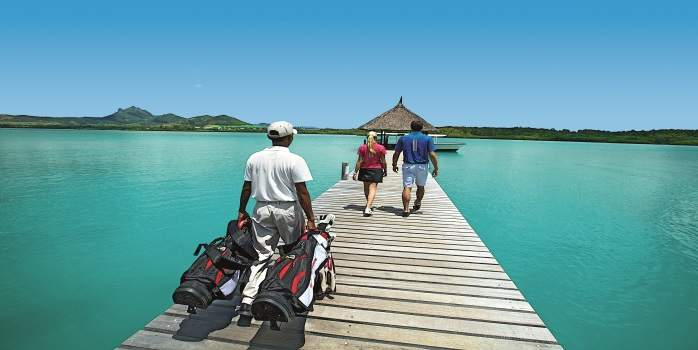 Long Beach, Mauritius with Free Golf