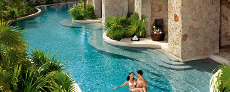 Secrets Maroma All Inclusive Honeymoon Mexico pool