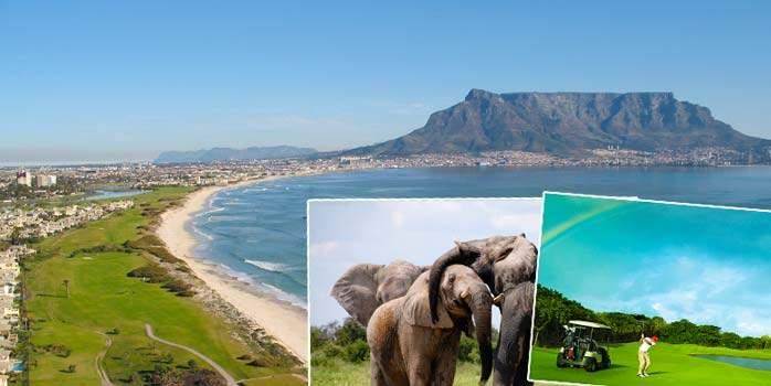 South Africa & Mauritius Golf Holiday plus Safari