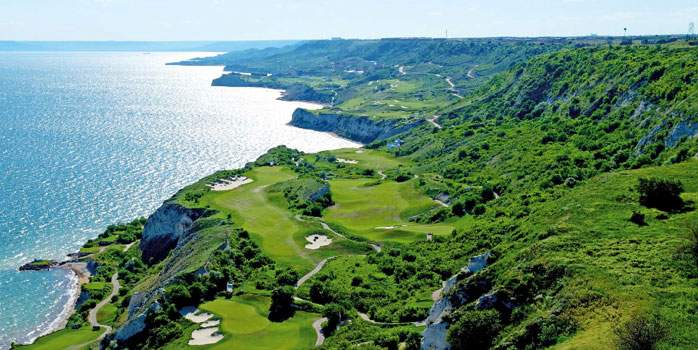 Thracian Cliffs Golf Course, designed by Gary Player