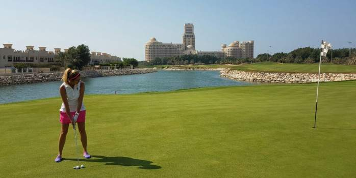 Waldorf Astoria, Ras Al Khaimah with 5 rounds of golf