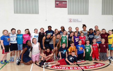 Yale's Women's Basketball Team tour of Ireland