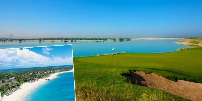 Golf Holiday Abu Dhabi and Belle Mare Plage Mauritius