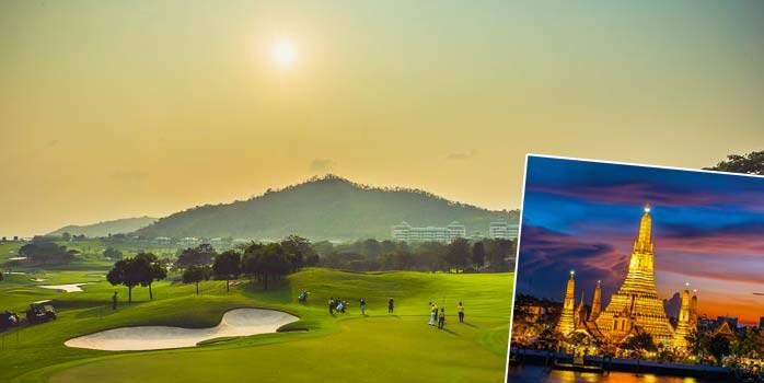 Bangkok, Kanchanaburi and Hua Hin, Thailand Golf Holiday