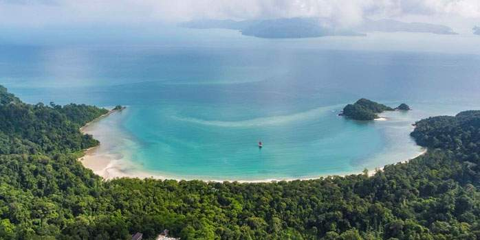 Datai Langkawi Malaysia Golf Holiday Aerial View