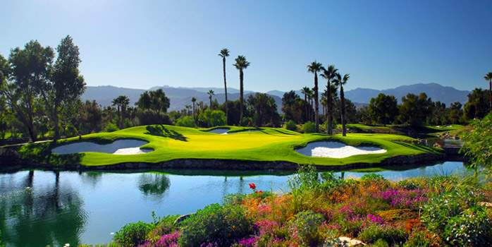 Golf Course at Hyatt Regency Indian Wells Resort & Spa California USA Golf Holiday