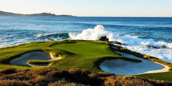 Pebble Beach Golf Links California Usa