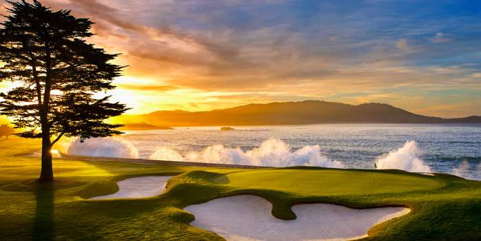 Pebble Beach Golf Links California USA Golf Holiday