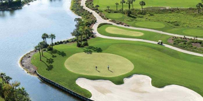 3 nights Sawgrass, 2 nights Turnberry Isle, 7 nights Marco Island