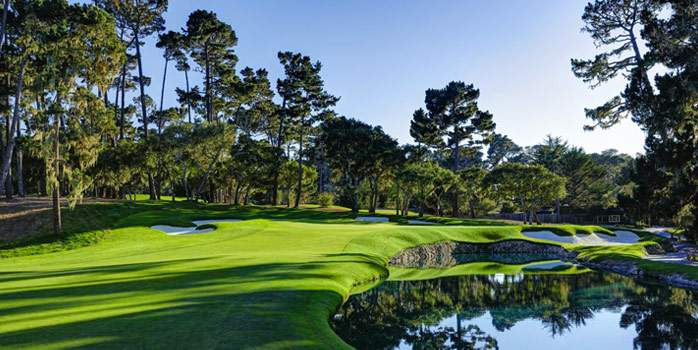 Spyglass Hill Golf Course Pebble Beach California USA Golf Holiday