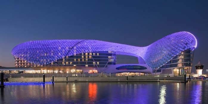 Yas Viceroy Abu Dhabi Golf Holidays Exterior