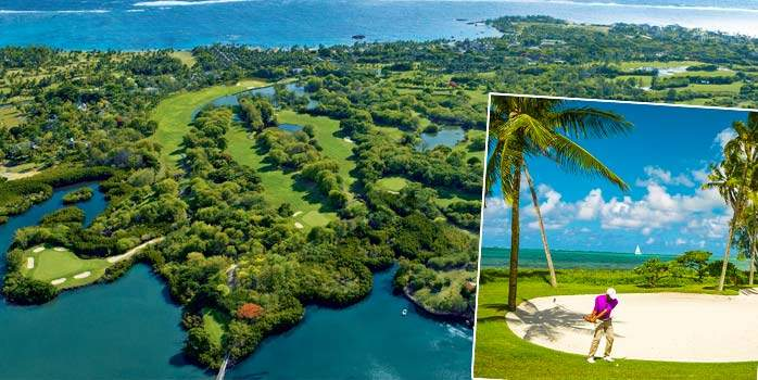 Anahita Golf & Spa Resort and Belle Mare Plage Twin Centre Mauritius Golf Holiday