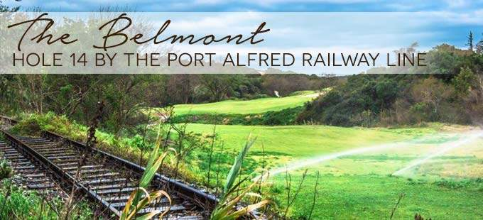 Belmont Golf Course Railway Blue Train Railway