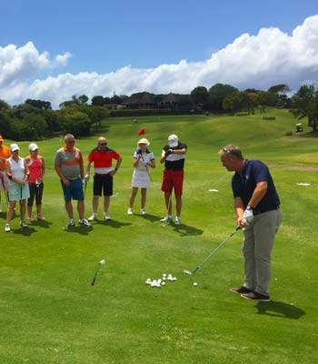 Jacques Mauritius Mixed Pairs 2017 golf lesson