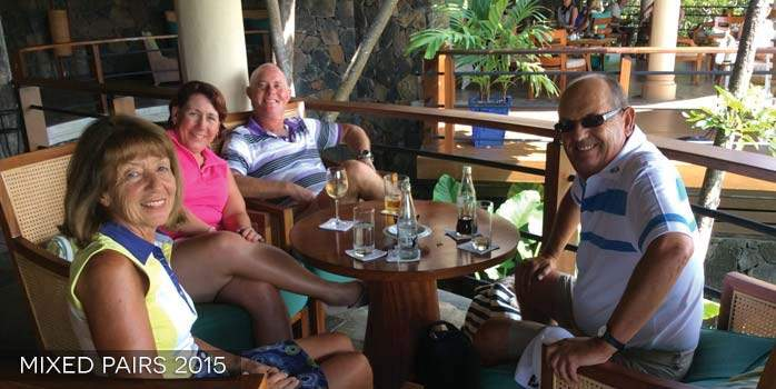 Mauritius Mixed Pairs Golf Tournament 2015