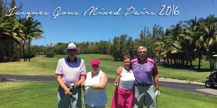 Mauritius Mixed Pairs Golf Tournament 2016