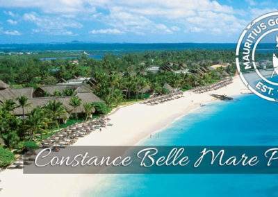 Constance Belle Mare Plage beach and resort