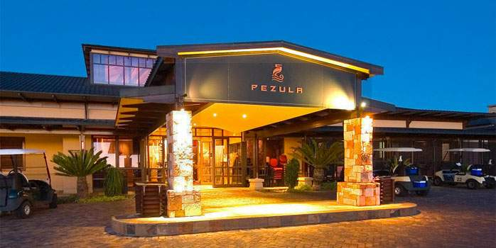 Conrad Pezula, Main Entrance, Golf Holiday in South Africa