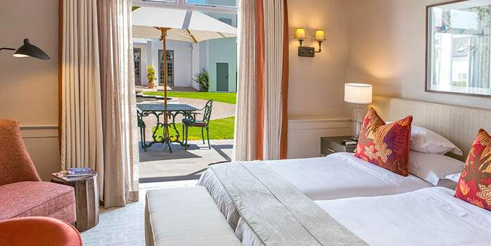 Erinvale Hotel, Bedroom, Golf Holiday in South Africa