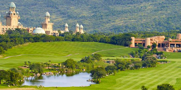 Lost City Golf Course, Golf Holiday in South Africa