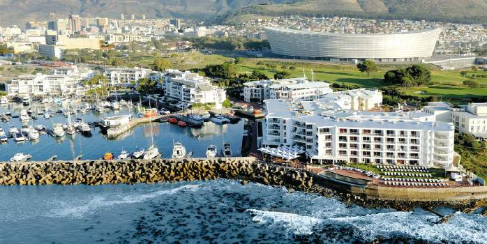 Radisson Blu Cape Town Aerial, Golf Holiday in South Africa