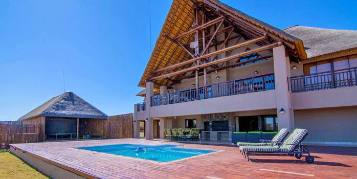Zebula Golf Estate, Pool Villa, Golf Holiday in South Africa