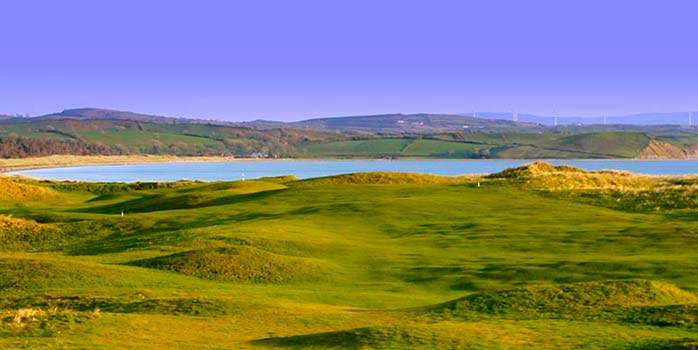 Donegal Golf Club Hole 8 North West Coast Ireland