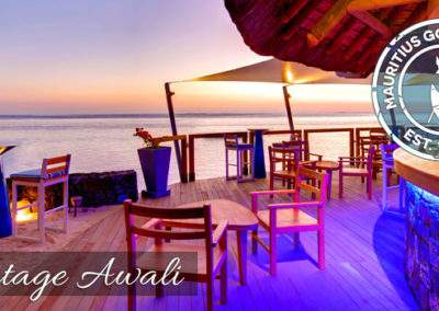 Infinity Blue Bar at the Heritage Awali with All Inclusive