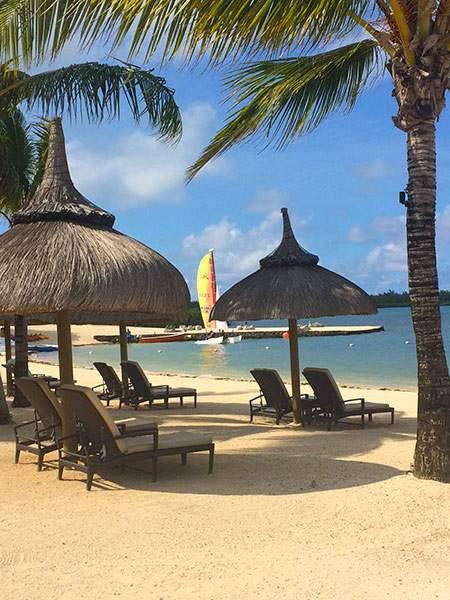 Anahita Resort Mauritius Beach