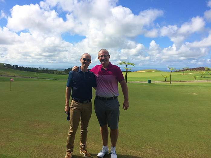 Avalon Golf Course Mauritius Mark & Ryan Dodds