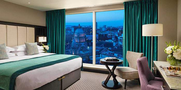 Grand Central Hotel, Belfast, City View Suite, Golf Holiday in Northern Ireland