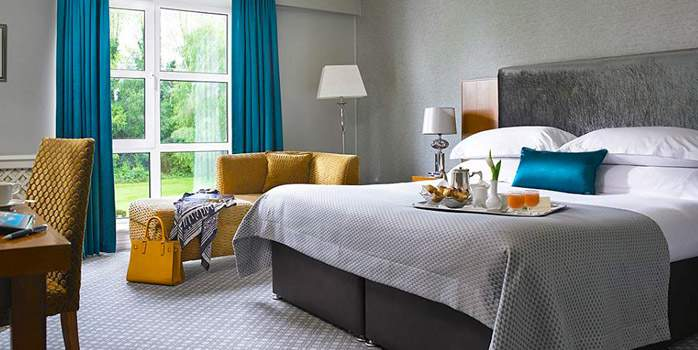The Killarney Park Hotel, Bedroom, Golf Holiday in Ireland