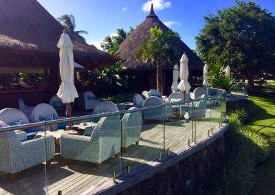 Veranda at the Legend Golf Course by Constance Belle Mare Plage, Mauritius