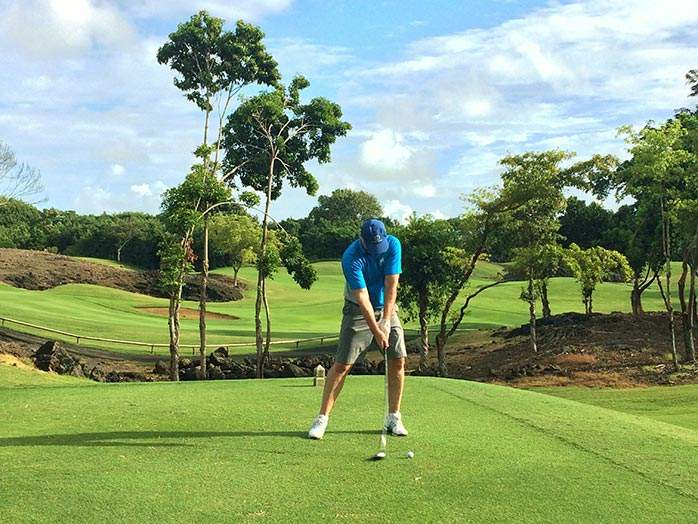 Mark Links Golf Course Constance Belle Mare Plage Golf Resort Mauritius