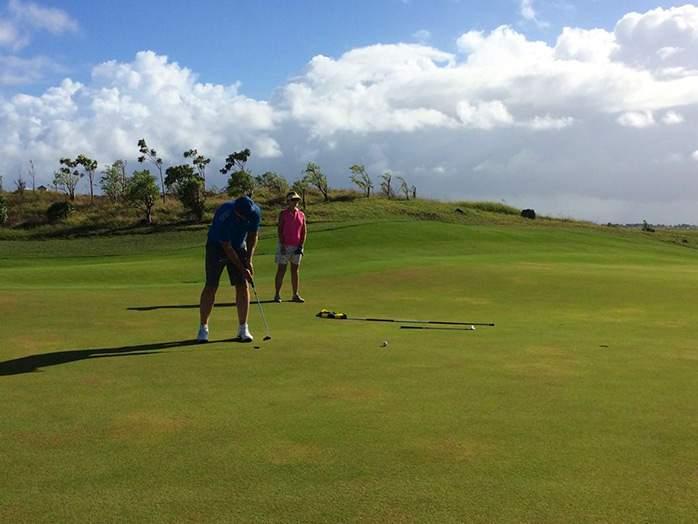 Mont Choisy Golf Club Mauritius Mark & Jo Kirk