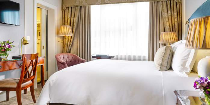 Shelbourne Hotel, Dublin, Room, Golf Holiday in Ireland
