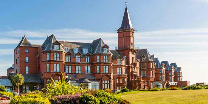 Slieve Donard Hotel, External View, Golf Holiday in Northern Ireland