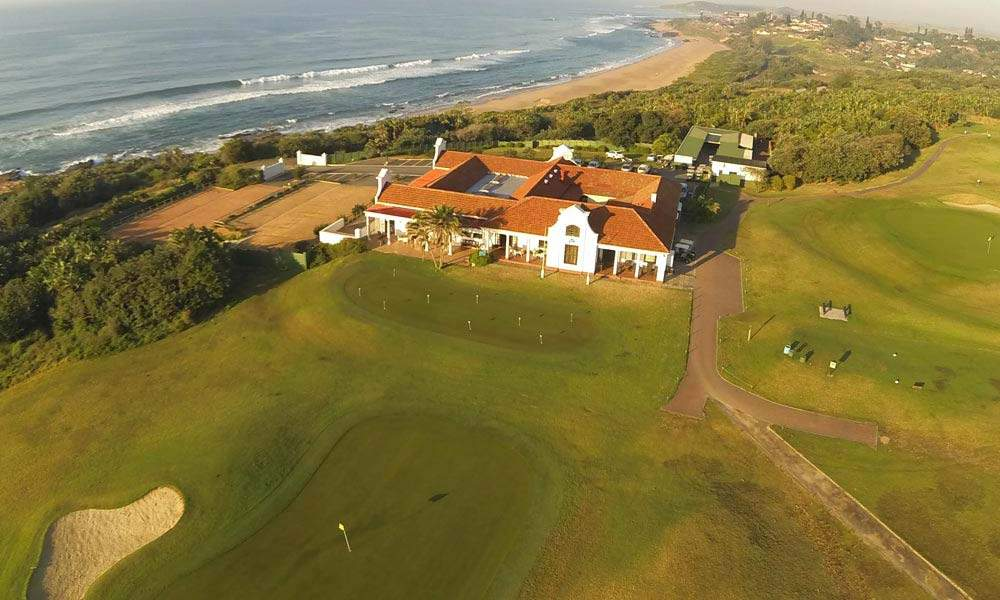 Aeriel view of Udmoni Links Course