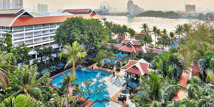 Anantara Riverside Bangkok Resort, Golf Holiday in Thailand