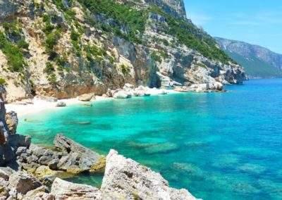Cala Mariolu in Sardinia
