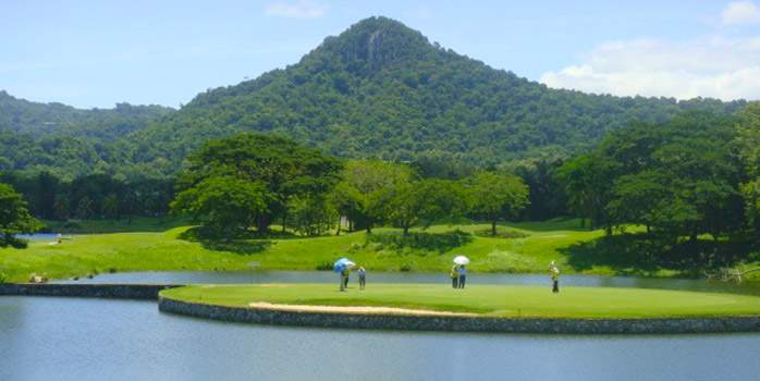 Khao Kheow Country Club, Golf Holiday in Thailand