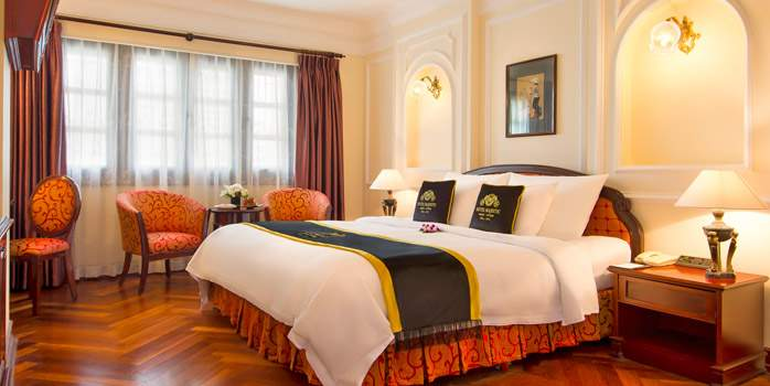 Majestic Saigon Vietnam, Colonial Deluxe Room, Golf Holiday in Vietnam