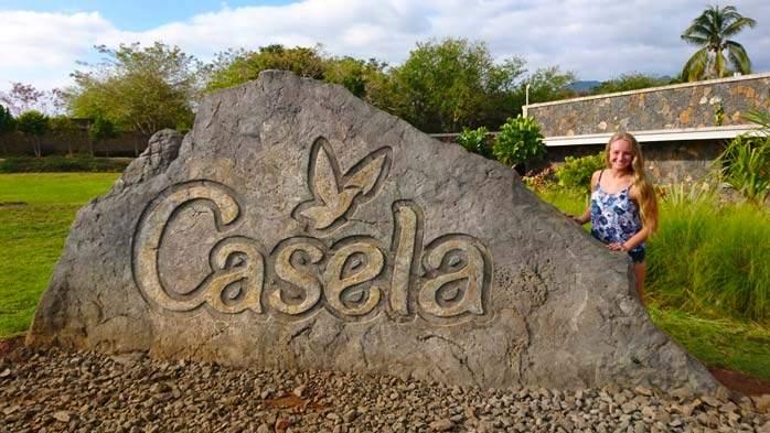 Nicola at Casela Safari Park, Mauritius