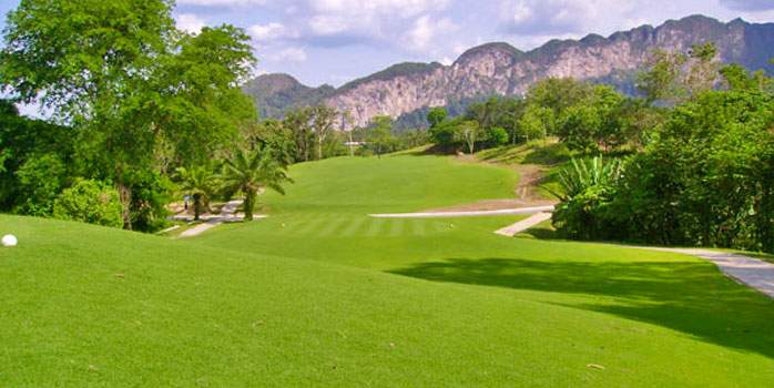 Rajjaprabha Dam Golf Course, Golf Holiday in Thailand