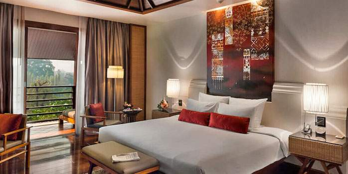 Ratilanna Riverside Spa Resort, Deluxe Room, Golf Holiday in Thailand