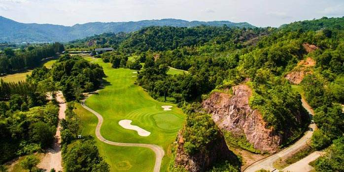 Red Mountain Golf Club, Golf Holiday in Thailand